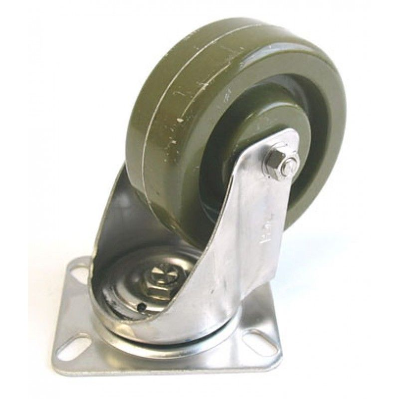 CA CAS-507-S, Swivel Caster Complete Assembly, 4 X 1-1/2, Stainless High Temp